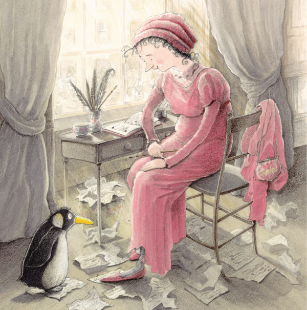 Jane Austen and the Penguin front