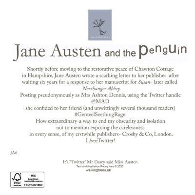 """It's """"Twitter"""" Mr Darcy said Miss Austen"""