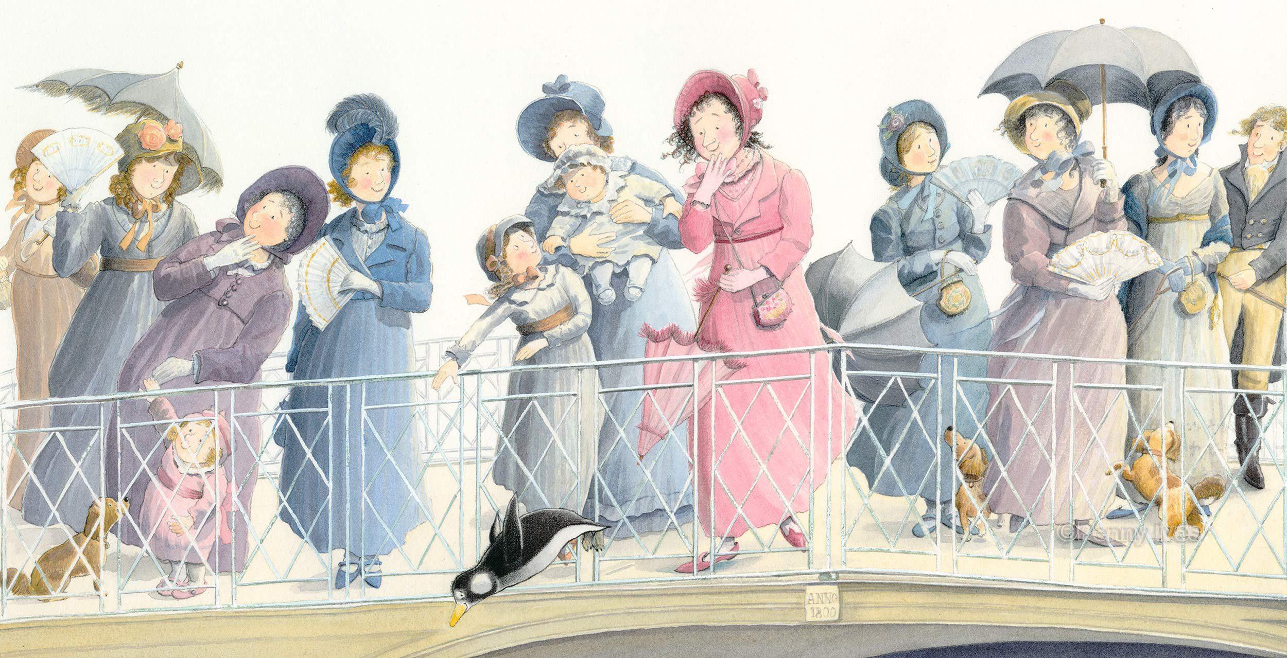 Jane Austen and the penguin